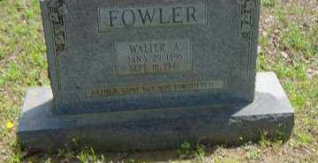 FOWLER, WALTER A. - Poinsett County, Arkansas | WALTER A. FOWLER - Arkansas Gravestone Photos