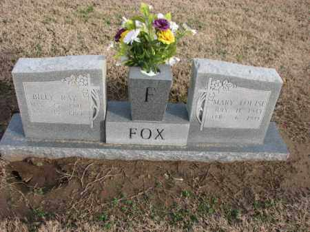 FOX, BILLY RAY - Poinsett County, Arkansas | BILLY RAY FOX - Arkansas Gravestone Photos