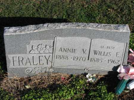FRALEY, ANNIE V. - Poinsett County, Arkansas | ANNIE V. FRALEY - Arkansas Gravestone Photos