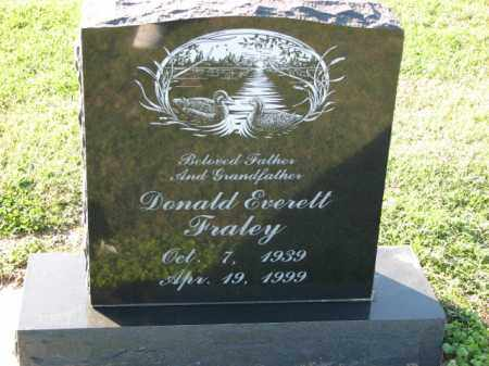 FRALEY, DONALD EVERETT - Poinsett County, Arkansas | DONALD EVERETT FRALEY - Arkansas Gravestone Photos