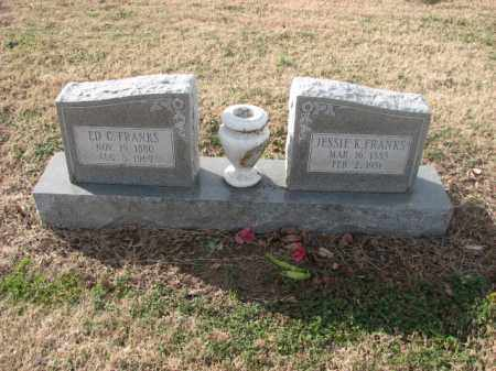 FRANKS, ED C. - Poinsett County, Arkansas | ED C. FRANKS - Arkansas Gravestone Photos