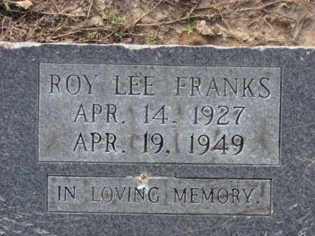 FRANKS, ROY LEE - Poinsett County, Arkansas | ROY LEE FRANKS - Arkansas Gravestone Photos