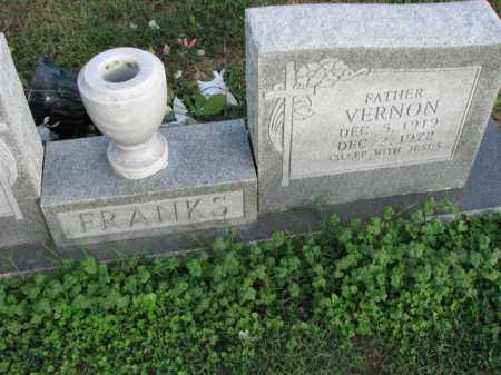 FRANKS, VERNON - Poinsett County, Arkansas | VERNON FRANKS - Arkansas Gravestone Photos