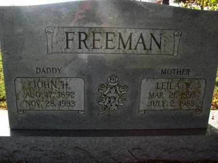 FREEMAN, LEILA W. - Poinsett County, Arkansas | LEILA W. FREEMAN - Arkansas Gravestone Photos