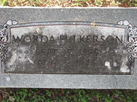 FULKERSON, WORDA - Poinsett County, Arkansas | WORDA FULKERSON - Arkansas Gravestone Photos