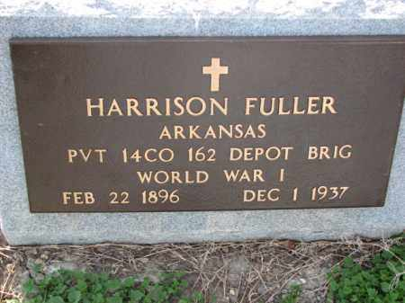 FULLER (VETERAN WWI), HARRISON - Poinsett County, Arkansas | HARRISON FULLER (VETERAN WWI) - Arkansas Gravestone Photos