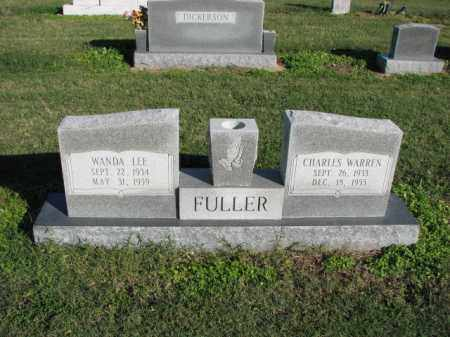 FULLER, CHARLES WARREN - Poinsett County, Arkansas | CHARLES WARREN FULLER - Arkansas Gravestone Photos