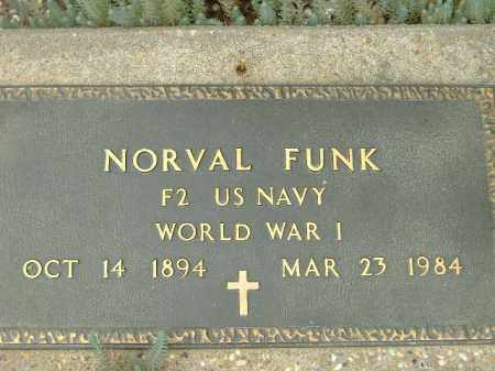 FUNK  (VETERAN WWI), NORVAL - Poinsett County, Arkansas | NORVAL FUNK  (VETERAN WWI) - Arkansas Gravestone Photos
