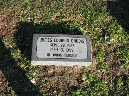 GADDIS, JAMES EDWARD - Poinsett County, Arkansas   JAMES EDWARD GADDIS - Arkansas Gravestone Photos