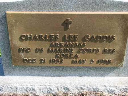 GADDIS (VETERAN KOR), CHARLES LEE - Poinsett County, Arkansas | CHARLES LEE GADDIS (VETERAN KOR) - Arkansas Gravestone Photos