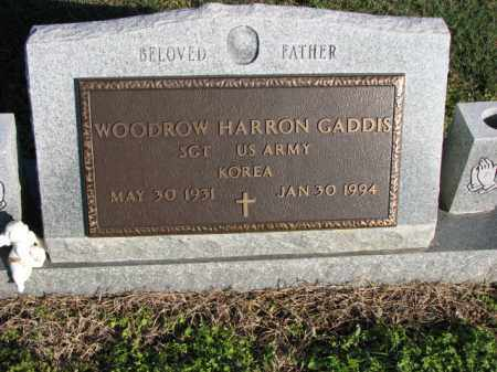 GADDIS (VETERAN KOR), WOODROW HARRON - Poinsett County, Arkansas | WOODROW HARRON GADDIS (VETERAN KOR) - Arkansas Gravestone Photos