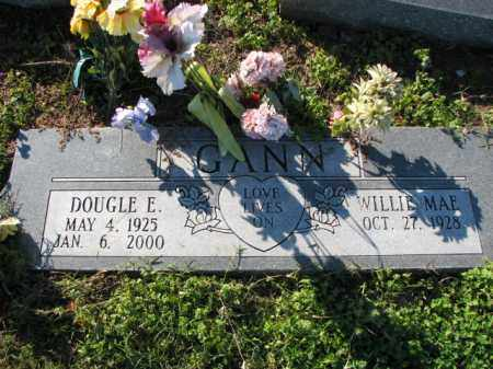 GANN, DOUGLE E. - Poinsett County, Arkansas | DOUGLE E. GANN - Arkansas Gravestone Photos