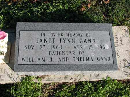 GANN, JANET LYNN - Poinsett County, Arkansas | JANET LYNN GANN - Arkansas Gravestone Photos