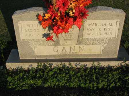 GANN, MARTHA M. - Poinsett County, Arkansas | MARTHA M. GANN - Arkansas Gravestone Photos