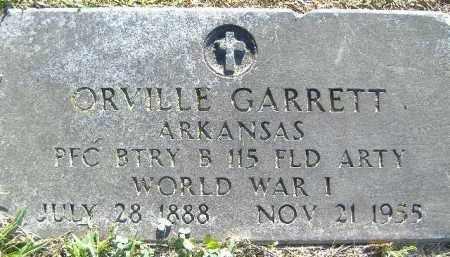 GARRETT  (VETERAN WWI), ORVILLE - Poinsett County, Arkansas | ORVILLE GARRETT  (VETERAN WWI) - Arkansas Gravestone Photos