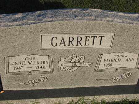 GARRETT, LONNIE WILBURN - Poinsett County, Arkansas | LONNIE WILBURN GARRETT - Arkansas Gravestone Photos