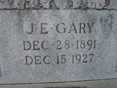 GARY, J. E. - Poinsett County, Arkansas | J. E. GARY - Arkansas Gravestone Photos