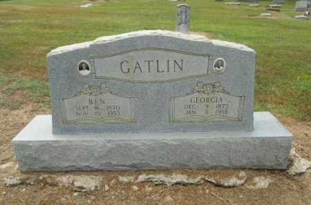 GATLIN, BEN - Poinsett County, Arkansas | BEN GATLIN - Arkansas Gravestone Photos