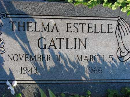 GATLIN, THELMA ESTELLE - Poinsett County, Arkansas | THELMA ESTELLE GATLIN - Arkansas Gravestone Photos