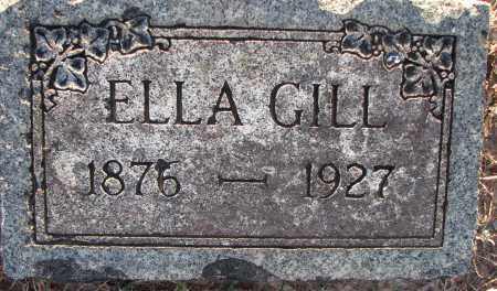 GILL, ELLA - Poinsett County, Arkansas | ELLA GILL - Arkansas Gravestone Photos