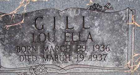 GILL, LOU ELLA - Poinsett County, Arkansas | LOU ELLA GILL - Arkansas Gravestone Photos