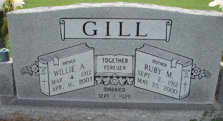 GILL, WILLIE - Poinsett County, Arkansas | WILLIE GILL - Arkansas Gravestone Photos