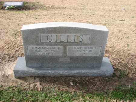 GILLIS, TILLMAN GRADY - Poinsett County, Arkansas | TILLMAN GRADY GILLIS - Arkansas Gravestone Photos