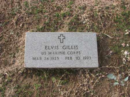 GILLIS (VETERAN), ELVIS - Poinsett County, Arkansas | ELVIS GILLIS (VETERAN) - Arkansas Gravestone Photos