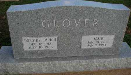 GLOVER, JACK - Poinsett County, Arkansas | JACK GLOVER - Arkansas Gravestone Photos