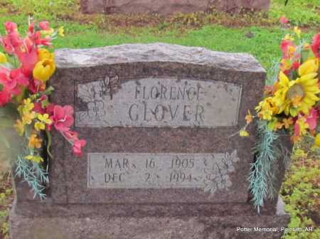 GLOVER, FLORENCE IRENE - Poinsett County, Arkansas | FLORENCE IRENE GLOVER - Arkansas Gravestone Photos