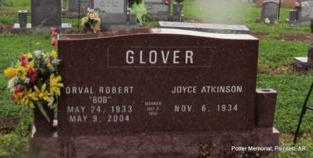 GLOVER, ORVAL ROBERT - Poinsett County, Arkansas | ORVAL ROBERT GLOVER - Arkansas Gravestone Photos