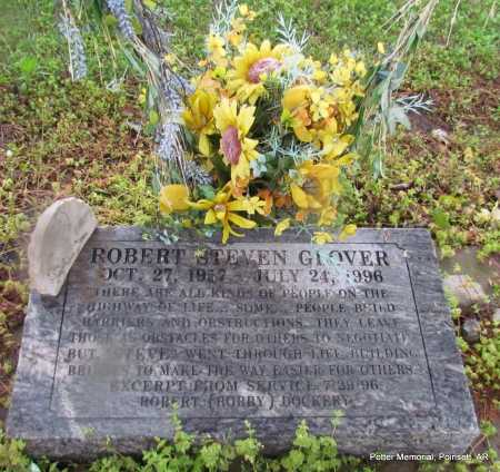GLOVER, ROBERT STEVEN - Poinsett County, Arkansas | ROBERT STEVEN GLOVER - Arkansas Gravestone Photos