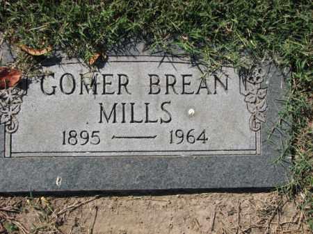 MILLS, GOMER BREAN - Poinsett County, Arkansas | GOMER BREAN MILLS - Arkansas Gravestone Photos