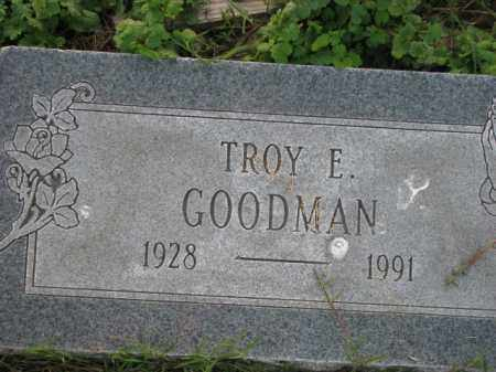 GOODMAN, TROY E. - Poinsett County, Arkansas | TROY E. GOODMAN - Arkansas Gravestone Photos
