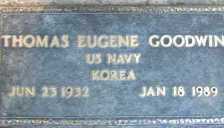 GOODWIN  (VETERAN KOR), THOMAS EUGENE - Poinsett County, Arkansas | THOMAS EUGENE GOODWIN  (VETERAN KOR) - Arkansas Gravestone Photos