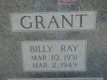 GRANT, BILLY RAY - Poinsett County, Arkansas | BILLY RAY GRANT - Arkansas Gravestone Photos