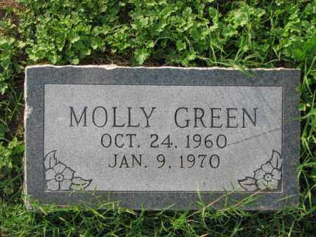 GREEN, MOLLY - Poinsett County, Arkansas | MOLLY GREEN - Arkansas Gravestone Photos