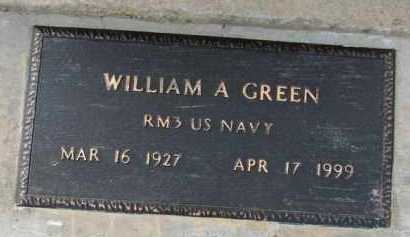 GREEN (VETERAN), WILLIAM A. - Poinsett County, Arkansas | WILLIAM A. GREEN (VETERAN) - Arkansas Gravestone Photos