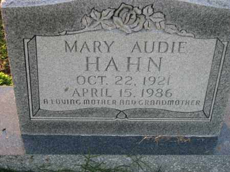 HAHN, MARY AUDIE - Poinsett County, Arkansas | MARY AUDIE HAHN - Arkansas Gravestone Photos