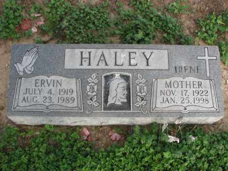 HALEY, ERVIN - Poinsett County, Arkansas | ERVIN HALEY - Arkansas Gravestone Photos