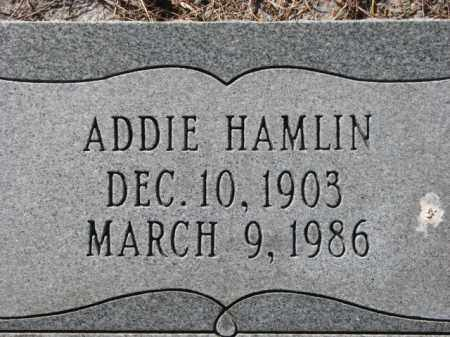 HAMLIN, ADDIE - Poinsett County, Arkansas | ADDIE HAMLIN - Arkansas Gravestone Photos