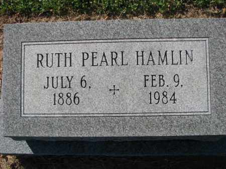 HAMLIN, RUTH PEARL - Poinsett County, Arkansas | RUTH PEARL HAMLIN - Arkansas Gravestone Photos