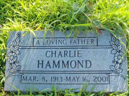 HAMMOND, CHARLIE - Poinsett County, Arkansas | CHARLIE HAMMOND - Arkansas Gravestone Photos