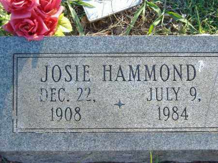 HAMMOND, JOSIE L - Poinsett County, Arkansas | JOSIE L HAMMOND - Arkansas Gravestone Photos