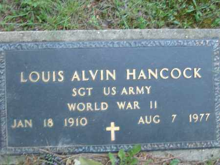 HANCOCK  (VETERAN WWII), LOUIS ALVIN - Poinsett County, Arkansas | LOUIS ALVIN HANCOCK  (VETERAN WWII) - Arkansas Gravestone Photos