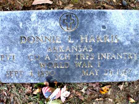 HARRIS  (VETERAN WWI), DONNIE L. - Poinsett County, Arkansas | DONNIE L. HARRIS  (VETERAN WWI) - Arkansas Gravestone Photos