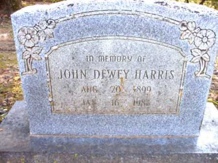 HARRIS, JOHN DEWEY - Poinsett County, Arkansas | JOHN DEWEY HARRIS - Arkansas Gravestone Photos