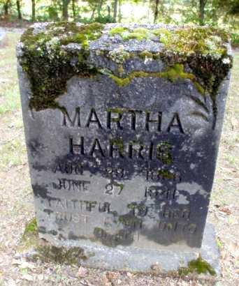 HARRIS, MARTHA - Poinsett County, Arkansas | MARTHA HARRIS - Arkansas Gravestone Photos