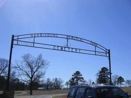 HARRISBURG, ENTRANCE - Poinsett County, Arkansas   ENTRANCE HARRISBURG - Arkansas Gravestone Photos