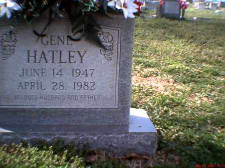 HATLEY, HAROLD GENE - Poinsett County, Arkansas | HAROLD GENE HATLEY - Arkansas Gravestone Photos